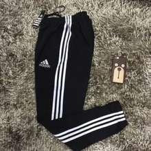adidas กางเกงขาจั๊ม เทา/ดำ ของแท้