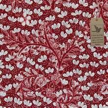 Cek Batik - Kain Batik Motif Melati V2 Unik Classic (Merah Maroon Manis)
