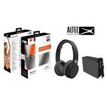 Altec Lansing Altec Ring N Go And One Bluetooth Headphone With Bluetooth Water Proof Speaker