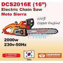 Daewoo Power Products DAEWOO DCS2016E ELECTRIC CHAIN SAW MOTO SIERRA