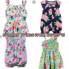 Carter's Bn Toddler/Baby Girl Summer Rompers And Dresses 9M-24M