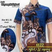 Azka Batik Baju Batik Pria Atasan Batik Kemeja Batik Modern Pria bATIK  PEKALONGAN MOTIF PANDAWA - 0b4a35ab00
