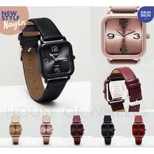 BrunBrun Paris New Watch Series Nayla Jam Tangan Wanita Strap Kulit Sintetis Warna