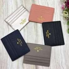 Kate Spade New York Graham Greta Court Card Case Holder Dompet Kartu Original Authentic Asli