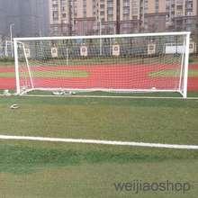 d6143531e Full Size 24 x 8 Flat Back Soccer Goal Post Net