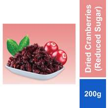 Signature Snack Dried Cranberries (Reduced Sugar) 200G
