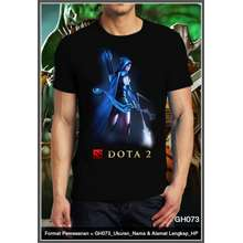 Ranger Drow Dota 2 Shirt Gildan Print Bordir Custom Design