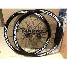 Mavic 700C 40Mm Cosmic Elite Road Wheelset Bike V Brake C Brake Thru Axle Quick Six-Hole And Center-Lock Disc Brake