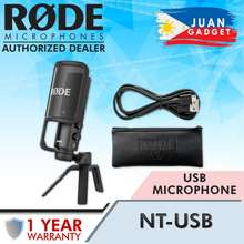 Rode NT-USB USB Microphone for Podcast Livestream Streaming Online Youtube Video Content | Juan Gadget