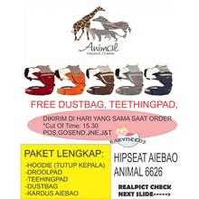 Aiebao Free Teething Pad&Dustbag Hipseat Animal Hipseat 6626