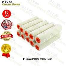 Local Brand CNY 4 inch Lambwool Paint Roller Refill / Solvent base Paint Roller (10pcs/box) / Roller cat minyak
