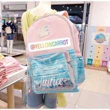 Justice Tas Original Backpack Tas Sekolah Anak Perempuan Colour Changing Backpack Anak Perempuan
