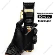 BaByliss Tông đơ pin USA PRO BLACK ( lưỡi đơn hỗ trợ Fade ) Sạc 110v lẫn 220v