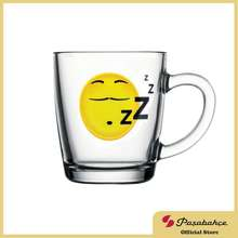 Paşabahçe Pasabahce Smiley Sleepy Mug 350Cc 11 3/4Oz