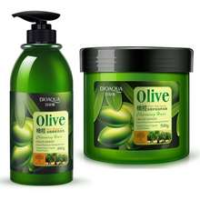 Bioaqua Silky Smooth 1+1 Olive Hair Shampoo & Moisture Hair Mask Set