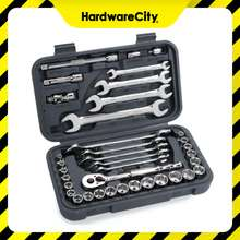 BluePoint BLPGSS3837 37PC 3/8 DR Socket And Wrench Set