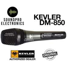 Kevler Dm-850 Precision Crafted Super Cardioid Dynamic Wired Microphone