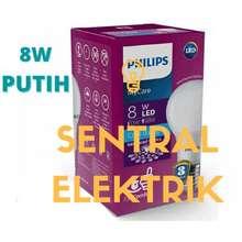 Philips Lampu LED Bulb 8w 8watt 8 watt Pengganti 9w 9 watt 9 w Putih -