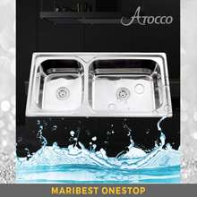 Atocco At-10050 Stainless Steel Double Bowl Sink