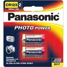 Panasonic Panasonic CR123A Lithium 3V