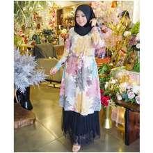 Sima Ready Namira Tunik Set Rok Tutu By Original (Tunik motif pink)