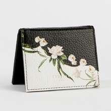 Ted Baker Women'S Wrrenn Elderflower Leather Mini Purse/ Card Holder - Genuine Leather