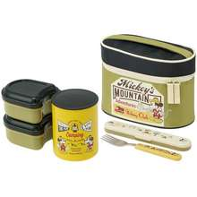Skater [Japan] Kcljc6 Insulated Lunch Box, Mickey Mouse, Outdoor (560 Ml)