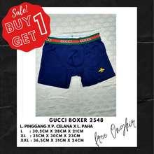 Gucci Buy 1 Get 1 Boxer 2548 #Boxer Pria #Boxer Batam #Boxer Import #Boxer Murah