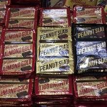 Whittaker's Almond Gold 135G Peanut Slab Ori 150G Peanut Slab Dark 150G