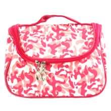 −38 % Beau Cosmetic Bag Army 123 - Merah Muda