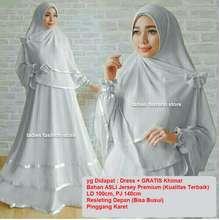 Ladies Fashion Dress Muslimah BUSUI   Fashion Muslim   Gamis Muslim Syari    Dress Muslim   efee0c17b3