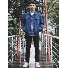 JAKET JEANS PREMIUM PRESTIGE - jaket jeans denim blue garment // BEST SELLER