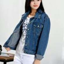 jaket wanita  COD Jaket Denim Jeans Wanita Best Seller - Blue Wash 245de0bed1