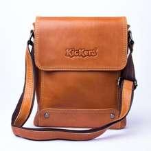 Kickers Tas selempang pria kulit asli TKC-21 - TAS KICKERS Cokelat 4d6e77b10a