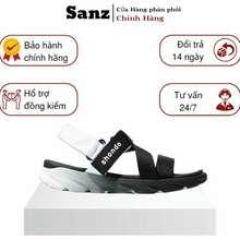 Shondo Giày Sandal Shat F6 Sport Màu Ombre Đen Trắng Chính Hãng 100%