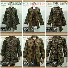 Blouse Batik Jumbo/ Blouse Batik Wanita Jumbo/ Atasan Batik Wanita Jumbo