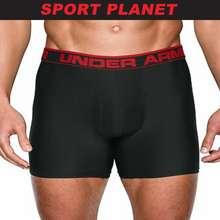 Under Armour Men Heat Gear Boxerjock Original Series 6 Boxers Underwear Seluar Dalam Lelaki(1277238-001) Sport Planet 23