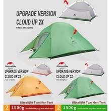 Naturehike Tenda Cloud Up 2X Ultralight Cloudup 2X 210T Camping Outdoor