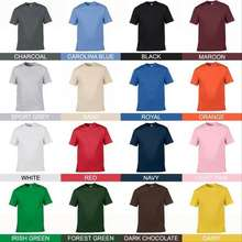 Gildan Kaos Polos Cotton Original Baju Kaos Santai Warna Warni Murah