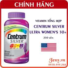 Centrum Vitamin Tổng Hợp Silver Ultra Women'S 50+ Cho Nữ Giới Trên 50 Tuổi