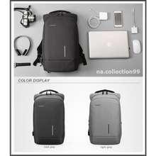 Kingsons Tas Ransel Laptop Pria Wanita Anti Air Waterproof Backpack Anti Maling Travel Bag A50