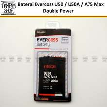 SALE Winner Baterai Handphone Evercoss U50 U50A Y Smart Original Double Power Batre Batrai Evercross