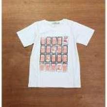 Burberry PLAYFUL TOTS Kaos Motif Kotak Kotak Putih/ Kaos Anak Santai/ Kaos Anak Simpel Katun (Int:4 thn)