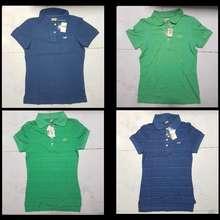 HOLLISTER Icon Polo Tee/Shirt Women/Girls Size L