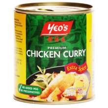 Yeo's [Bundle Of 3] Can Curry Premium Chicken With Extra Spice 280G