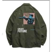 Olive Russ Jacket Destroy Past S