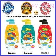 Didi & Friends Original Didi And Friends Head To Toe Baby Body Bath Bubble Wash Pump 750Ml + Few Flavours Choice