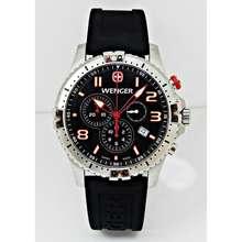 Wenger Swiss Squadron Series Men Chronograph Watch 77055