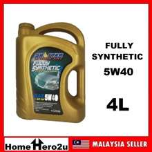 Prostar Fully Synthetic Lubricant Engine Oil Enjin Minyak SAE API SN 5W40 4L - Homehero2u