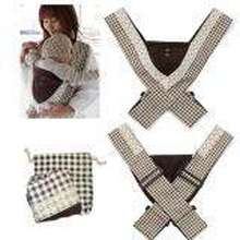 8dbb5b58ac71a Minizone Japanese Adjustable X-style Baby Carrier - Choco Check